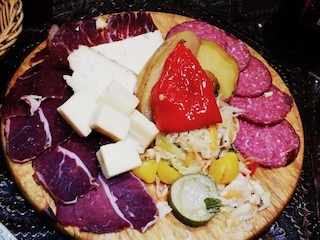 Cold cuts and cheese
