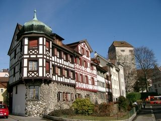 Arbon Castle And Houses