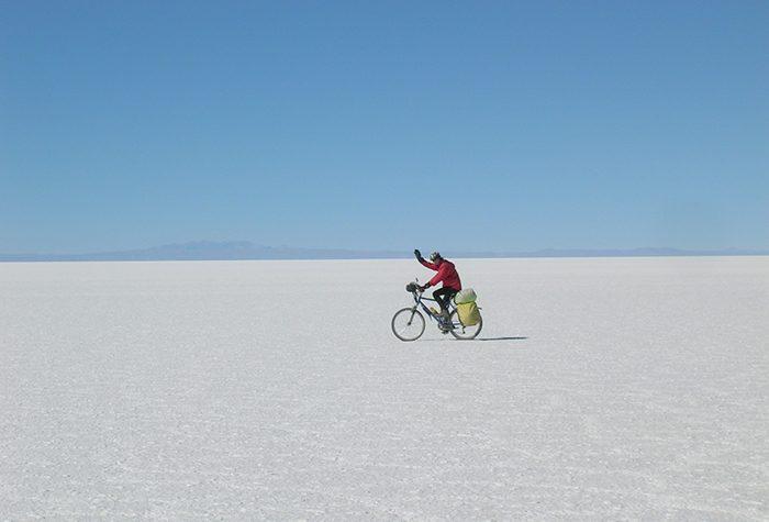 The Salar de Uyuni, Bolivia