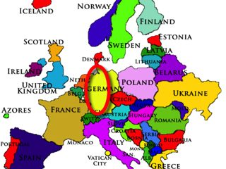 Germany Map Europe320
