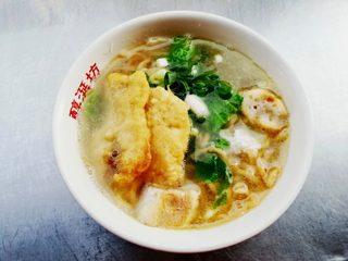 Tainan egg noodle soup