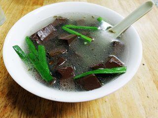 Pig's blood soup